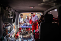 انتقال ۷۰ مصدوم زلزله به بیمارستان های ایلام