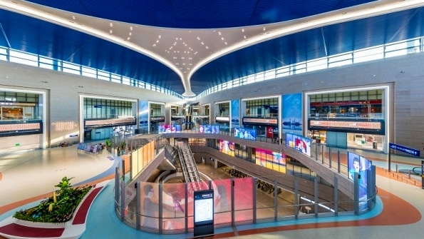 Shanghai Pudong opens new satellite terminal