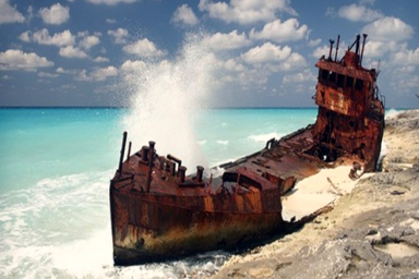 Do you know what happens to a ship when it's too old to sail anymore?