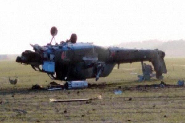 وقوع حادثه برای یک بالگرد در اشنویه/ سرنشینان آسیب ندیدند