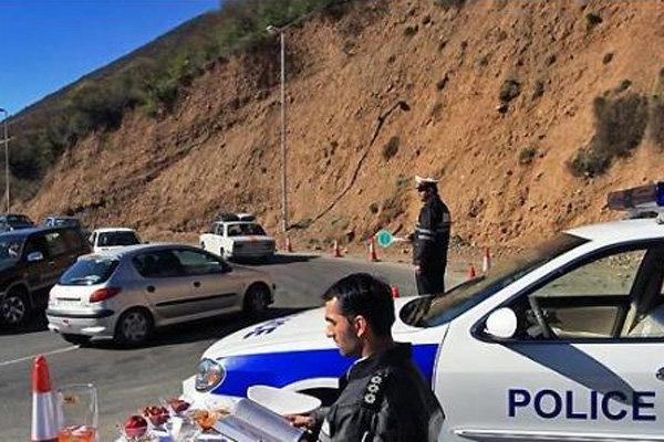 ترافیک سنگین در آزادراه کرج-قزوین