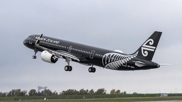 Air New Zealand Takes Delivery of its First A321neo