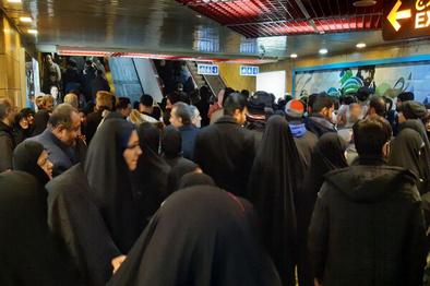 امکان تخلیه مسافران مترو در هسته مرکزی شهر نیست