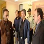 بازدید نمایندگان دولت و مجلس از فرودگاه لامرد