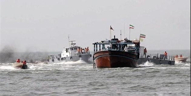 عملیات اطلاعاتی پلیس و کشف قاچاق ۱۱۰ میلیاردی از یک شناور در تنگستان