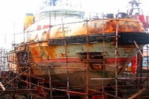 آغاز بهره برداری از حوضچه تعمیرات کشتی عظیم گسترش هرمز