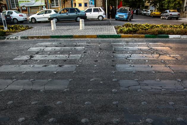 ترمیم جدارههای شهری و افزایش روشنایی در محله راه آهن