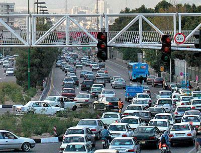 ترافیک سنگین در زیرگذر سرحدآباد