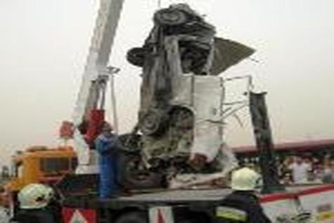 تصادف در محور کیاسر ۸ کشته و زخمی برجای گذاشت