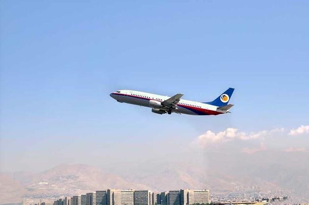اعلام وضعیت ویژه هواپیمای کاسپین در اثر برخورد پرنده