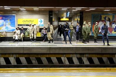 سیلاب ۹ درصد از ورودیهای مترو پایتخت را تهدید میکند