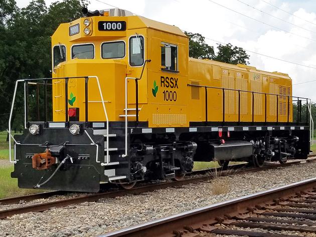 Tier 4 genset locomotive enters service