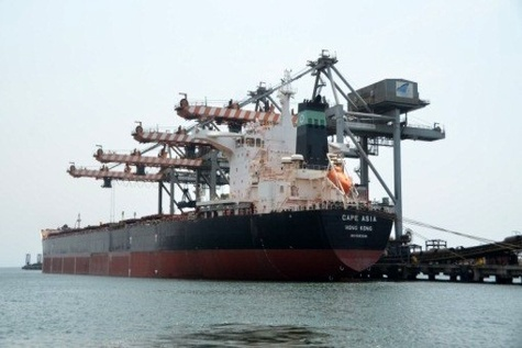 Gangavaram Port sets all India record for non - coking coal discharge