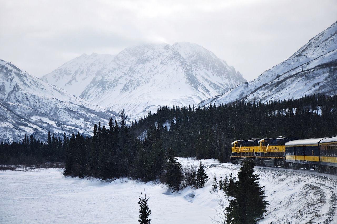 Alaska Railroad Aurora/ آمریکا