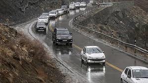 تردد یکطرفه جاده های چالوس و هراز لغو شد