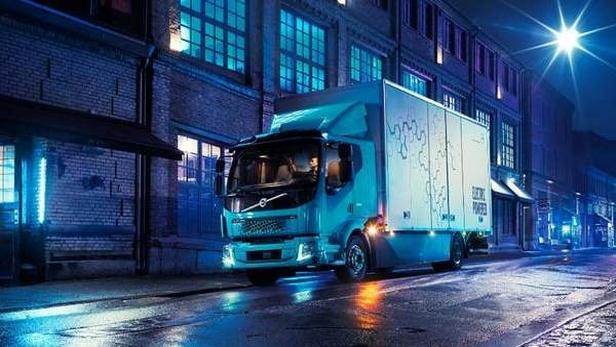 «ولوو» از اولین کامیون برقی خود رونمایی کرد