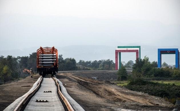 اتصال ریلی بندرعباس به روسیه با راهآهن آستارا-آستارا