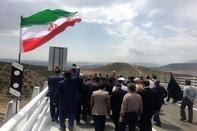 3- بازدید وزیر راه و شهرسازی از راهآهن قزوین- رشت