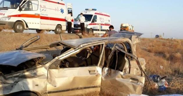 واژگونی خودرو در سبزوار ۲ کشته داشت