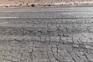 عکس| جادههایی که نیاز به ترمیم دارند