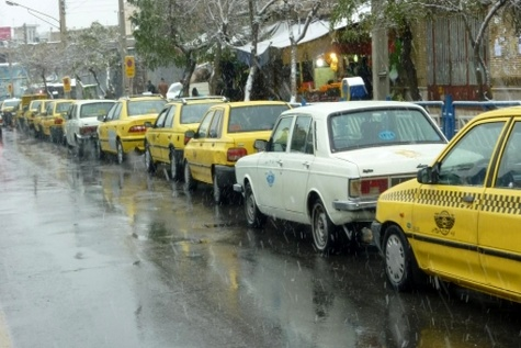 تهران، شهری که درغبارتاکسی های رنگی گم شد