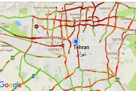 ◄ سهم ترافیک از شب یلدای تهرانیها