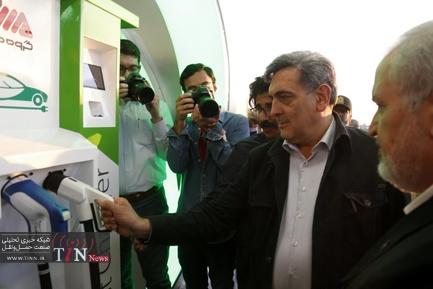 افتتاح نخستین جایگاه شارژ خودروهای برقی کشور