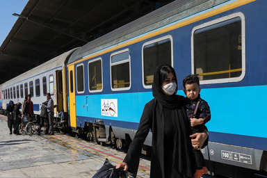 کاهش ۹۰ درصدی جابه جایی مسافر در راه آهن طبس