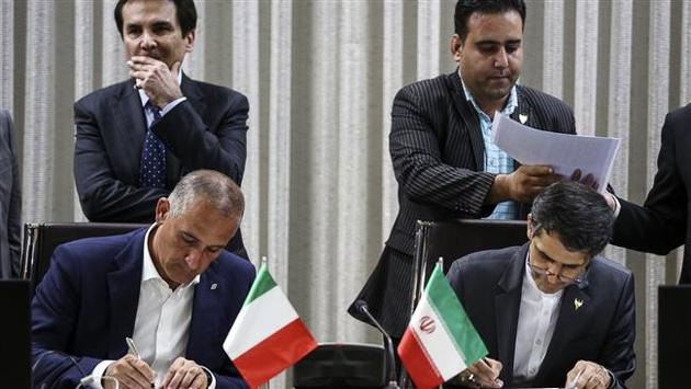 Italy, Iran sign $1.3 billion high-speed rail deal