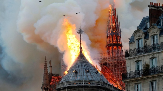 Air France to help in the reconstruction of Notre-Dame cathedral in Paris