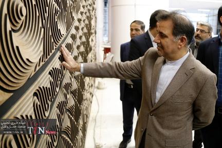 بازدید وزیر راه و شهرسازی از روند تکمیل ترمینال سلام شهر فرودگاهی امام(ره)
