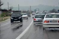جاده های زنجان لغزنده و حادثه آفرین است