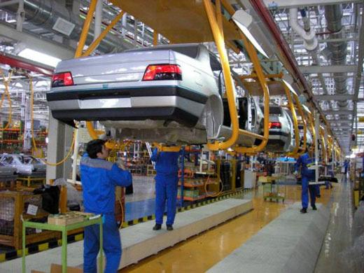 افزایش تورم تولید وسایل نقلیه موتوری
