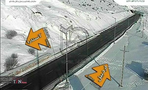 هیچ مشکلی در تردد وسایل نقلیه در محورهای مواصلاتی اردبیل وجود ندارد