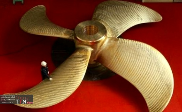 HHI produces its ۵,۰۰۰th propeller