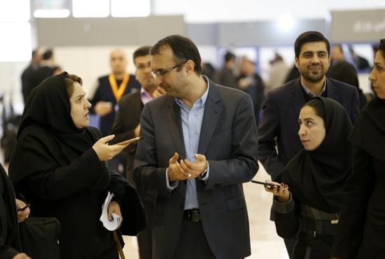 نشست خبری شهرام آدم نژاد؛ در حاشیه نمایشگاه حملونقل