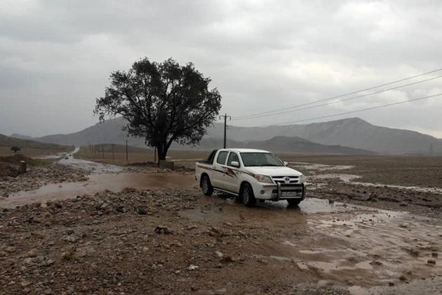 تخریب  200 کیلومتر راه روستایی در قزوین بر اثر سیل