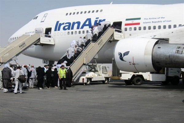 حجاج خوزستانی 26 مرداد وارد فرودگاه اهواز خواهند شد