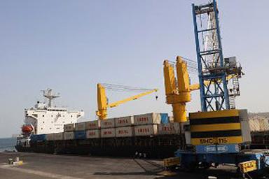 ورود اولین کشتی کانتینری بصورت مستقیم از کشور هند به بندر چابهار