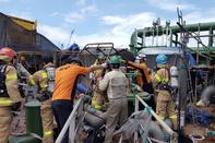 انفجار در یارد کشتیسازی 4 نفر را کُشت