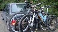 دوچرخه را اینگونه با خودرو حمل کنید تا جریمه نشوید!