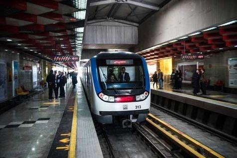 خدماترسانی متروی تهران و حومه به تماشاگران مسابقه فوتبال