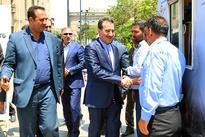 بازدید مدیرعامل از ایستگاه راه آهن تهران/ گزارش تصویری