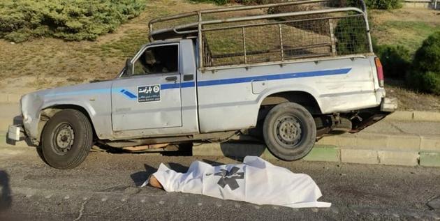 فوت  پیرمرد 82 ساله در تصادف بزرگراه آزادگان