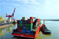 از سرگیری صادرات کالا به عراق از مرز دریایی خرمشهر