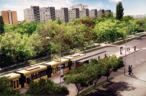 Work begins on Budapest tram extension