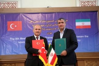 هشتمین اجلاس کمیسیون مشترک حمل و نقل ایران و جمهوری ترکیه