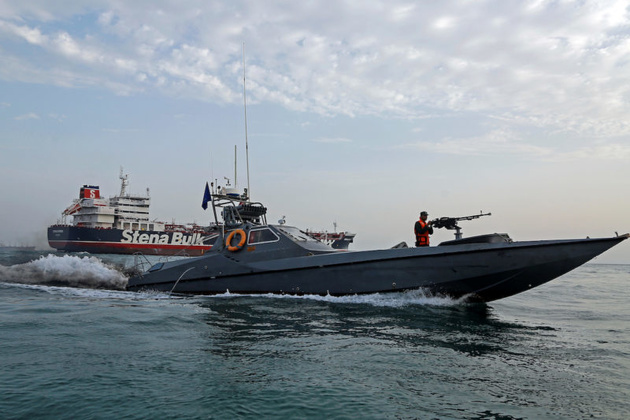 Iran Seizes Foreign Tanker Smuggling Fuel in Gulf