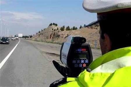 ثبت سرعت غیرمجاز 12 درصد خودروها در جاده های آذربایجان شرقی