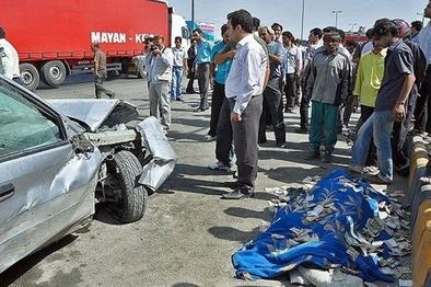 ۵۰ درصد تصادفات در ۳۰ کیلومتری ابتدای محورها رخ میدهد